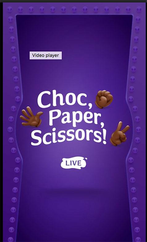 Affinity Outdoor - Cadbury Choc, Scissors, Paper